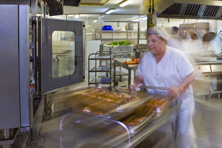 Hospital Catering services requiring food safety management and HACCP compliance system